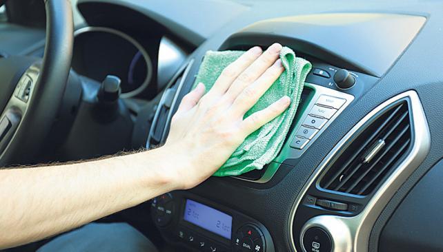 limpieza del interior del coche