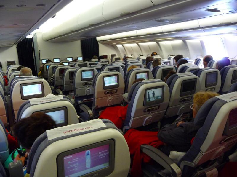 entretenimiento en el avion