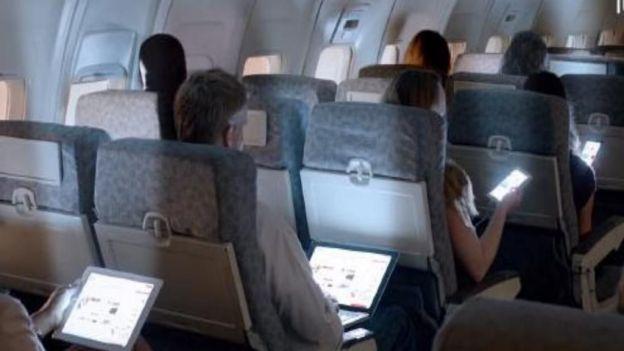 viajando en avion