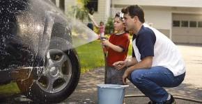 lavado del auto