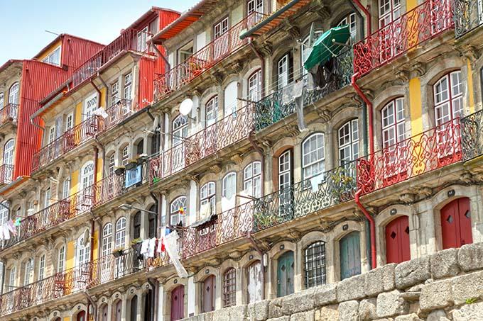 casco antiguo de la ciudad de Oporto