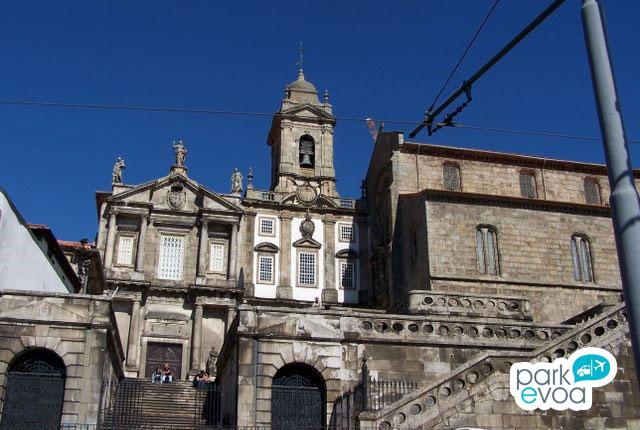 Iglesia San Francisco en Oporto