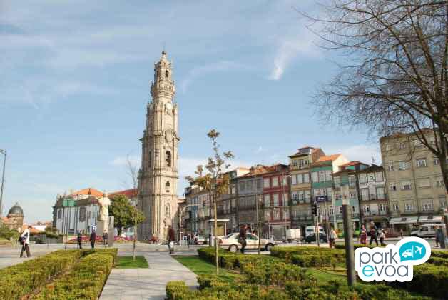 Torre dos Clerigos en Oporto