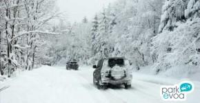 carreteras con nieve invierno
