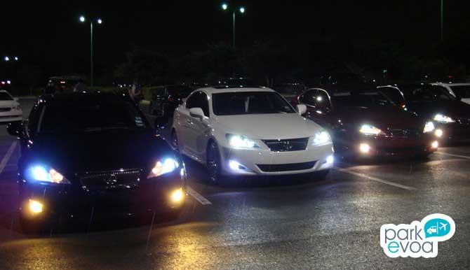luces invierno coches