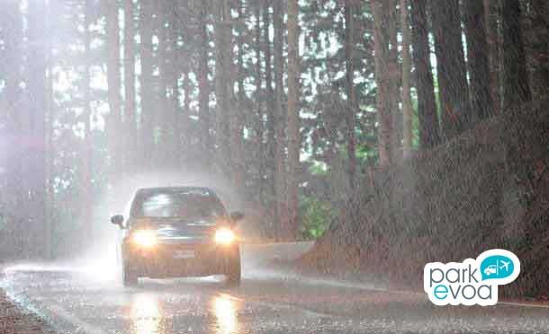 neumaticos con lluvia