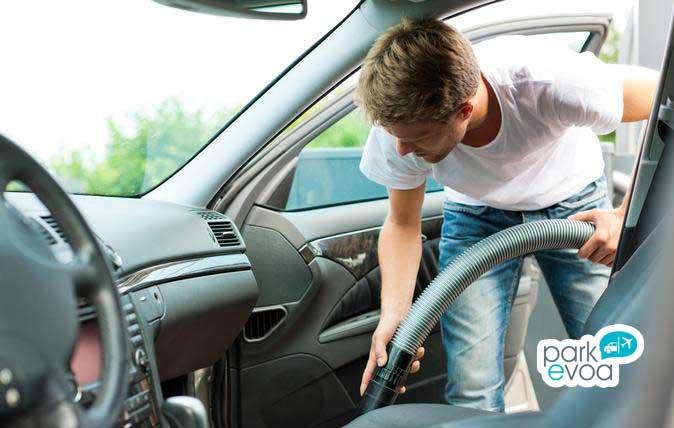 limpiar vehiculo interior