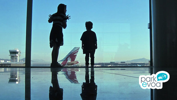 aeropuerto familia