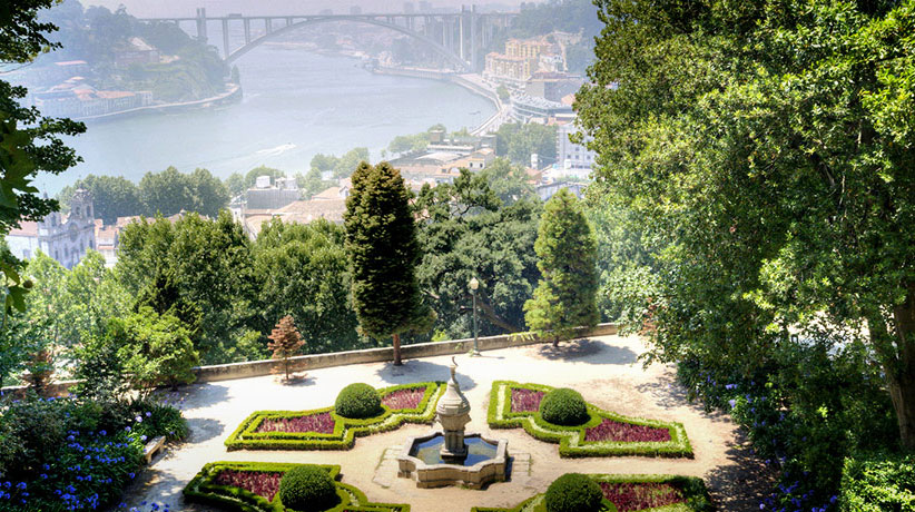 porto jardines vistas ciudad