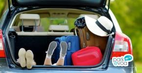 viaje coche familia