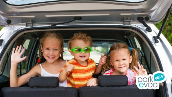viajes en coche hijos
