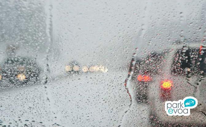 conduccion con lluvia