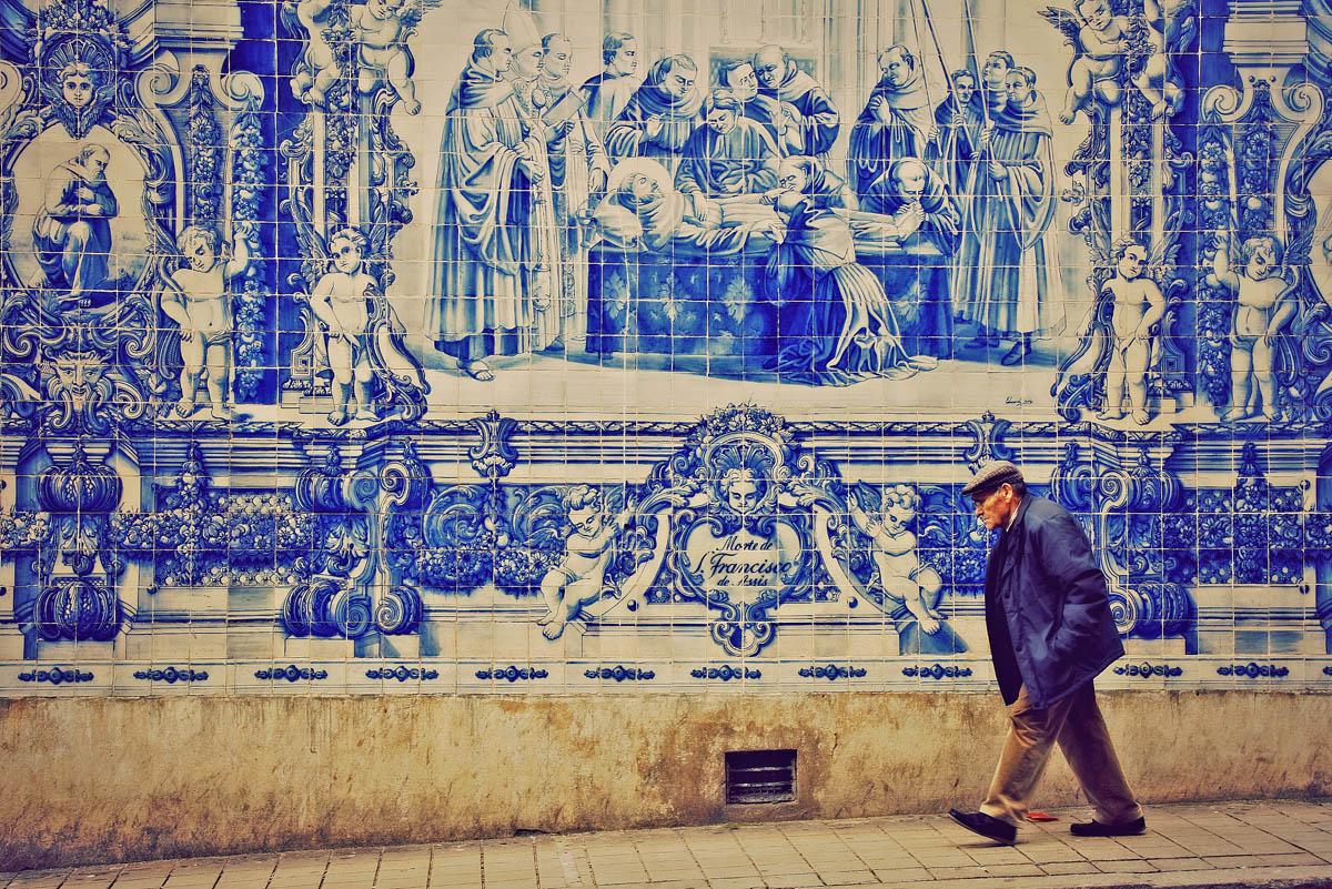 Arte en las calles de Oporto